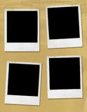 пустые изображения поляроидные Стоковое Изображение