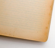Пустые изолированные страницы Стоковое Изображение