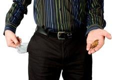 пустые карманн Стоковая Фотография RF