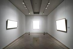 Пустые картинные рамки Стоковые Фото