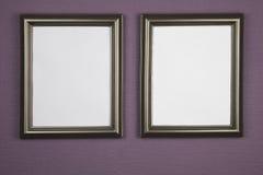 Пустые картинные рамки Стоковые Изображения RF