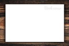 Пустые книга или обложка журнала Стоковое Фото