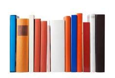Пустые книги на белизне Стоковые Изображения RF