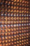 Пустые коричневые стеклянные бутылки Стоковая Фотография