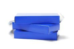 Пустые коробки медицины картона Стоковое фото RF