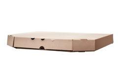Пустые коробки пиццы изолированные на белой предпосылке Стоковая Фотография