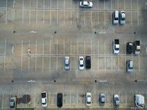 Пустые места для стоянки, вид с воздуха Стоковое Изображение RF