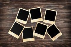 Пустые немедленные рамки фото Стоковые Фотографии RF
