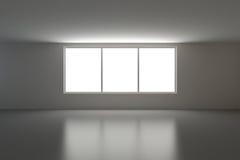 пустые окна интерьера 3 Стоковая Фотография RF