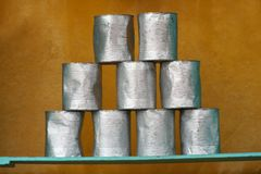 пустые олов Стоковые Изображения RF