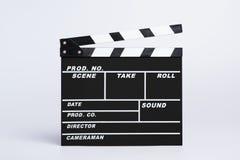 Пустые доска или clapboard директоров стоковые изображения rf