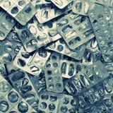 Пустые плиты микстуры Стоковые Фотографии RF
