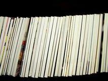 пустые позвоночники кассеты Стоковые Изображения