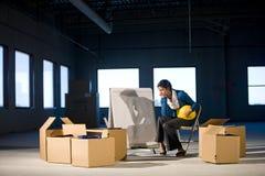пустые размеры офиса стоковые изображения rf