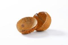 Пустые раковины кокоса Стоковое Фото