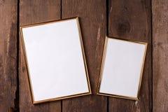 Пустые рамки для вашего дизайна Стоковые Фото