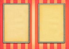 пустые рамки 2 Стоковые Изображения