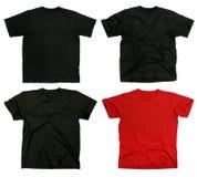 пустые рубашки t Стоковая Фотография