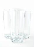 пустые стекла 3 Стоковые Фотографии RF