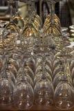 Пустые стекла для вина Стоковое Фото