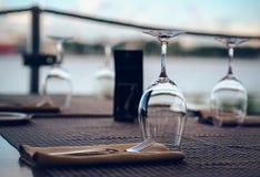 пустые стекла Стоковое Фото