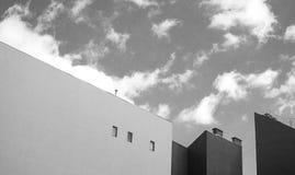 Пустые стены Стоковое Изображение