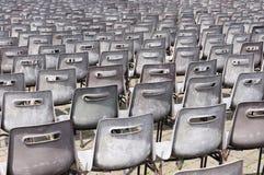 Пустые стулы для MASS. Ватикана Стоковое Изображение RF