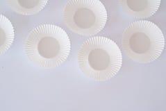 Пустые чашки булочки Стоковая Фотография RF