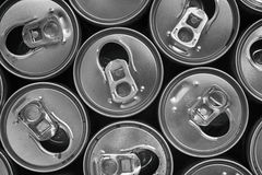 пустые чонсервные банкы питья энергии Стоковые Изображения RF