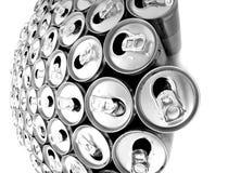 пустые чонсервные банкы питья энергии Стоковое фото RF