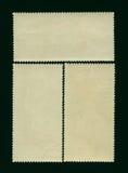 пустые штемпеля почтоваи оплата Стоковое Изображение RF