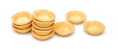 Пустые tartlets Стоковое Фото