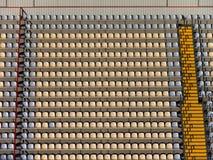 пустые tribunes стадиона Стоковая Фотография