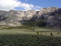 пустыни ландшафт принятая Невада ely Стоковые Изображения