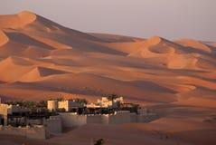 Пустыня Абу-Даби Стоковое фото RF