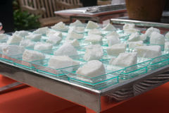 Пустыня белого торта Стоковые Изображения RF