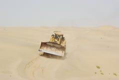пустыня бульдозера Стоковое Изображение