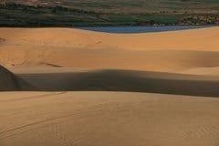 Пустыня в Вьетнаме Стоковое Изображение RF
