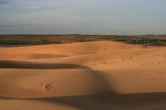 Пустыня в Вьетнаме Стоковые Фото