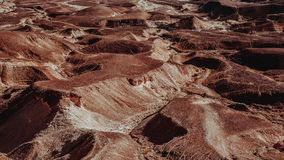 Пустыня в Израиле Стоковая Фотография RF
