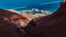 Пустыня в Израиле стоковое изображение