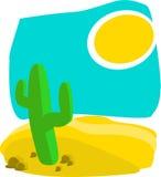 пустыня горячая Стоковые Фотографии RF