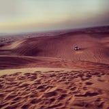 Пустыня Дубай Стоковые Изображения RF