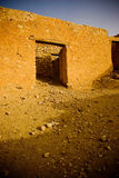 пустыня здания старая стоковые фото