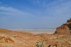 пустыня Израиль Стоковая Фотография