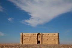 пустыня Иордан замока Стоковые Изображения RF