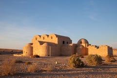 пустыня Иордан замока Стоковая Фотография RF