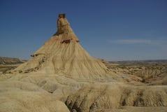 Пустыня Испания Bardenas Reales Стоковое фото RF