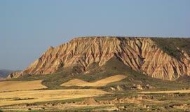 Пустыня Испания Bardenas Reales Стоковые Фотографии RF