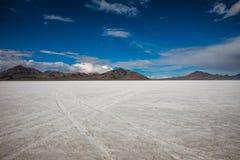 Пустыня квартир соли стоковые изображения